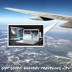 Gift Guide: Holiday Traveling + TV! Gadgets and gifts that change and accessorize the way we interact and consume TV when outside of the living room… like while traveling!