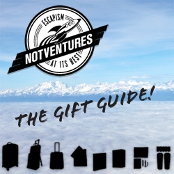 Gift Guide time! First up ~ a travel gift guide inspired by NotVentures!