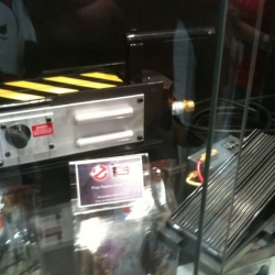 Mattel is releasing a full scale prop replica of the Ghostbusters trap! Available this fall.