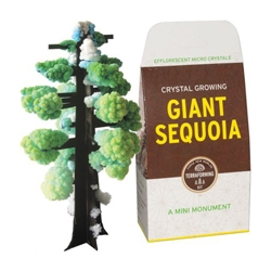 Crystal growing Giant Sequoia is part of a new line of  terraforming kits by Copernicus