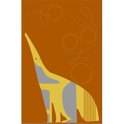 love the pushmepullyou animal prints, but have held off on posting them...but today...the anteater wins.  =)