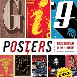 Gig Posters Volume I: Rock Show Art of the 21st Century is the brand new book featuring over 100 different poster artists. The book includes 101 perforated and ready-to-hang posters.