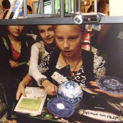 "Wired blog piece on Augmented Reality as used in Pop Up Books!!! 2D/Virtual 3D ~ fun videos, awesome to see kids reactions - ""ArsEdition's upcoming interactive 3D book Aliens & UFOs, provides a good example of Metaio's Augmented Reality (AR) technology"""
