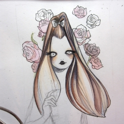 Process blogspot of Toronto based illustrator Alice Blastora