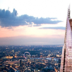 "Dubbed ""The Shard"", also known as the London Bridge Tower, is a skyscraper that will stretch the imagination an astounding 1017ft tall when construction is completed in 2012."