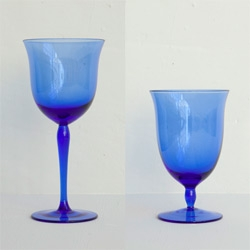 Billy Cotton's beautiful and affordable tableware/glasses at Bergdorfs ~ the glasses come in clear, blue, and green!