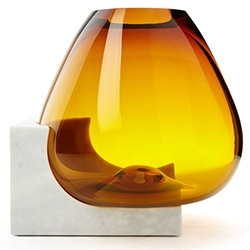 "Where blown glass meets marble ~ Cool Hunting takes us on a closer look of ""Osmosi"" by Emmanuel Babled"