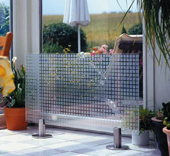 glass heaters - embedded heating in glass panes - use for home or balconies/etc?