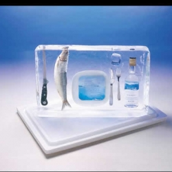 with winter kicking in, leo burnett's ad for global fish seemed appropriate.