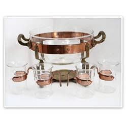 We just ordered the awesomest vintage Glögg bowl and cup set for our future batches of NOTGLÖGG! (or cider, or punch, or....) You can even put a tea light under to keep it warm!