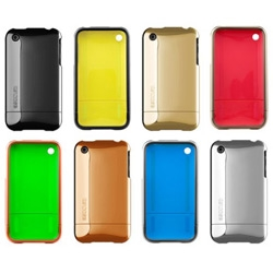 My iPhone is ready for a makeover ~ these new Incase Glossy Chrome Slider cases (with a secret splash of color inside) look stunning.