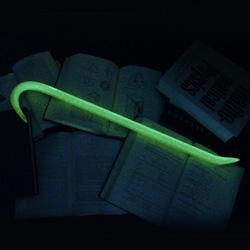GLOWBAR! Yes ~ a green ~ glowing ~ crowbar.