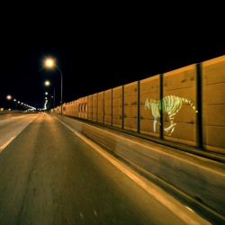 Le3 invites you to discover 'Golden Tiger'. An amazing running tiger blending into the lights of the streets of Paris during the  night. On the video, a motion street mapping with no post production FX.