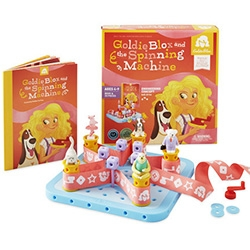 Goldie Blox ~ interesting building block series targeted at girls to learn engineering concepts.
