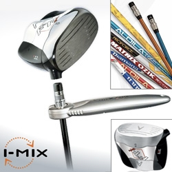 Callaway Golf gets modular with their new I-MIX (ugh, terrible name) system where you can mix shafts and driver heads on the go with their special wrench... i wonder how they feel on the course.