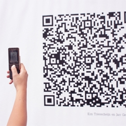 The QR cloud project in Amsterdam by Golfstromen.