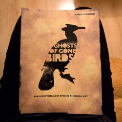 Ghosts of Gone Birds, the book is officially published today, documenting the first four exhibitions and the ideas behind the project. We joined the launch last night to celebrate the release and got a preview of the new book!