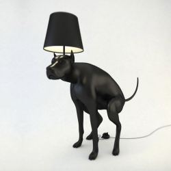 The Good Boy Lamp designed by Whatshisname is an item of everyday use that makes the user uncomfortable with every use. It was actually banned from the art exhibition it was meant for because it made people uncomfortable!