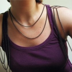 Maeve Harness Necklace from Girl Tuesday Jewelry