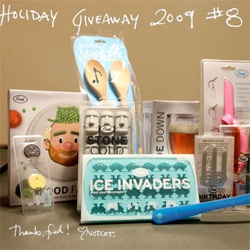 Holiday Giveaway! Our wonderfully playful friends at Fred have put together another amazing bundle of goodies for a giveaway!