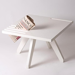 Good News coffee table by Norwegian designer Karl Marius Sveen, for Mokasser.