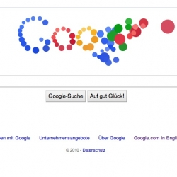 Google.de has an interactive animated logo today, seems to be active on .it and .fr too