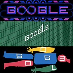 Animated Saul Bass Google Doodle today!