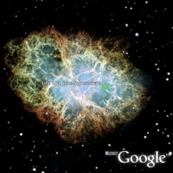 Google Earth can now look to the SKY! Explore constellations, far away galaxies, planetary movements... or just drift around and look at how gorgeous it is.