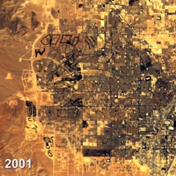 Google Earth Engine is a planetary-scale platform for environmental data & analysis using years of satellite imagery. From the growth of Las Vegas to the deforestation of the Amazon, check out these time lapse videos.