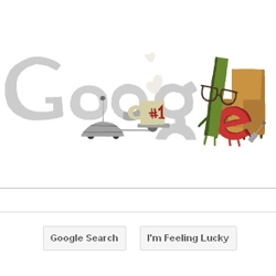 Fathers Day animated Google Doodle!