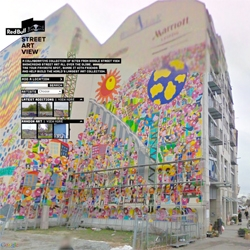 Google Street Art View from Red Bull and Loducca aims to document street art captured by Google Street View and create a searchable, multimedia map.