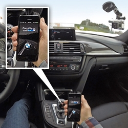 BMW & GoPro? Cool Hunting test drives the M3 and M4 and gets a peek at controlling a WiFi-enabled GoPro HERO 3+ camera using the car's iDrive system.