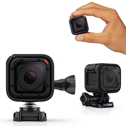 GoPro Hero4 Session is a new mini cube action camera with one button