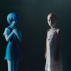 Provocative paintings and photography by controversial artist Gottfried Helnwein.