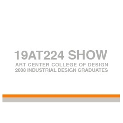 Art Center College of Design Product Grads have a website showcasing their work, in preparation for their upcoming Grad Show.
