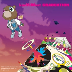 Here's the Japanese pop culture-inspired cover art for Kanye West's  new album, Graduation, being released on September 11th. [Editor's Note: Murakami!]
