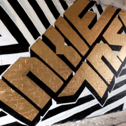 INSA has animated some of his street side artworks in awesome GIFs. Along with partner in crime, INKIE.