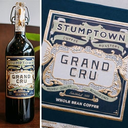 Stumptown Grand Cru Cold Brew - beautiful packaging for this exquisite new coffee from Stumptown Roasters - just in time for the holidays!
