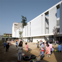 Primary school at Granollers, Spain by Jordi Badia from BAAS Architects.