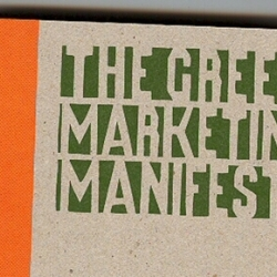 The Green Marketing Manifesto by John Grant wins the Environmental Award at the 2008 British Book Design and Production Awards.