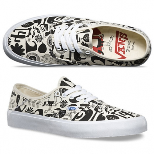 Vans X Yusuke Hanai collaboration is full of fun graphics