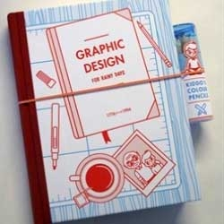Graphic Design for Rainy Days, beautiful book about the history of graphic design.