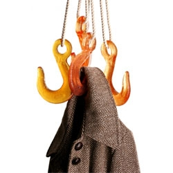 Ryan Frank's Grapple Hook Coat Rack is genius!