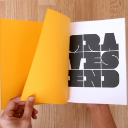 New work from UK Graphic Designer Chris Clarke - print and typography for social change.