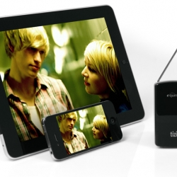 The equinux tizi by Gravis is the ultimate solution to watch TV on your iPad, iPhone and iPod touch via DVB-T. Nice little gadget.