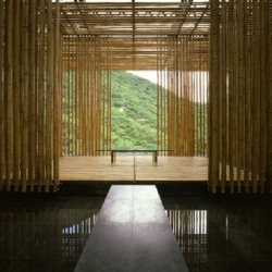 """...our intention was to apply the nature of the Great Wall to the act of dwelling. This is why the house is titled 'WALL', instead of 'HOUSE'"" - Kengo Kuma on The Great (Bamboo) Wall, a villa that built adjacent to the Great Wall of China."