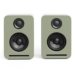 Nocs fits AirPlay, Bluetooth and Spotify Connect in one set of Active speakers in their new NS2 Air Monitors V2. And to celebrate there's a limited edition Faded Green!