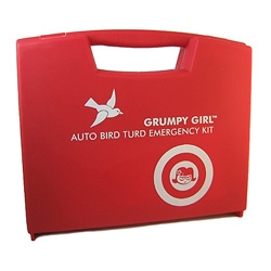 Grumpy Girl presents the Auto Bird Turd Kit - yes, you read that right, and its brilliant for anyone who actually takes the time to use elbow grease to take care of those bird poos.