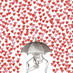 Adorable MH Jeeves – Grumpy Love print from CIA (the central illustration agency!)