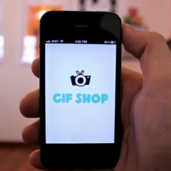 GIF SHOP, the animated .gif maker for your iPhone. Easily create and edit looping animations, upload to Facebook, Twitter and Tumblr all on the go!